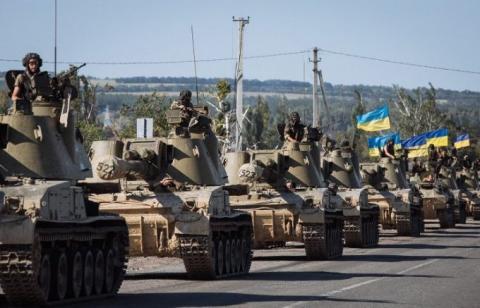 На востоке Украины все еще продолжается война